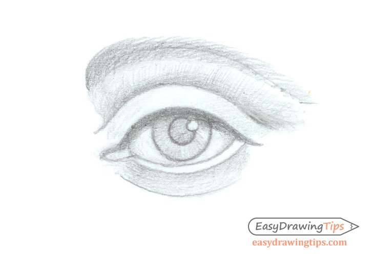 Eye basic shading