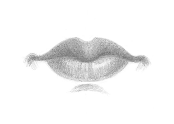 How To Draw Lips From 3 Different Views