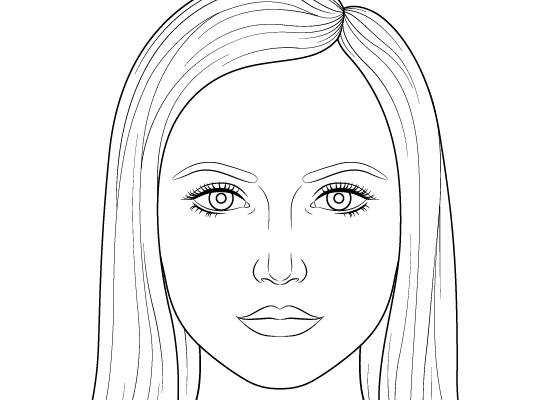 How To Draw A Female Face Step By Step Tutorial