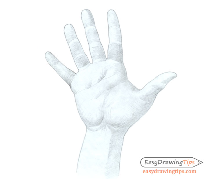 Hand drawing basic shading