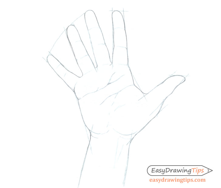 How To Draw A Hand Step By Step Tutorial Easydrawingtips A wide variety of hand outline options are available to you, such as power source, lighting solutions service, and hand outline. to draw a hand step by step tutorial