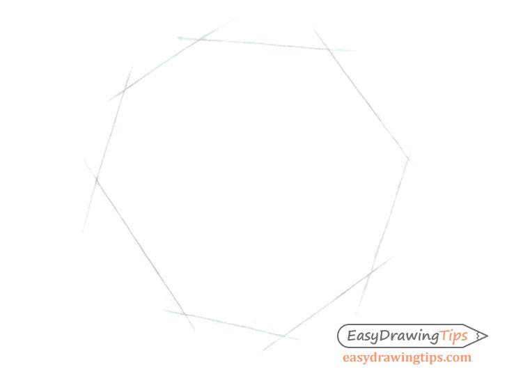 Rose outer shape sketch
