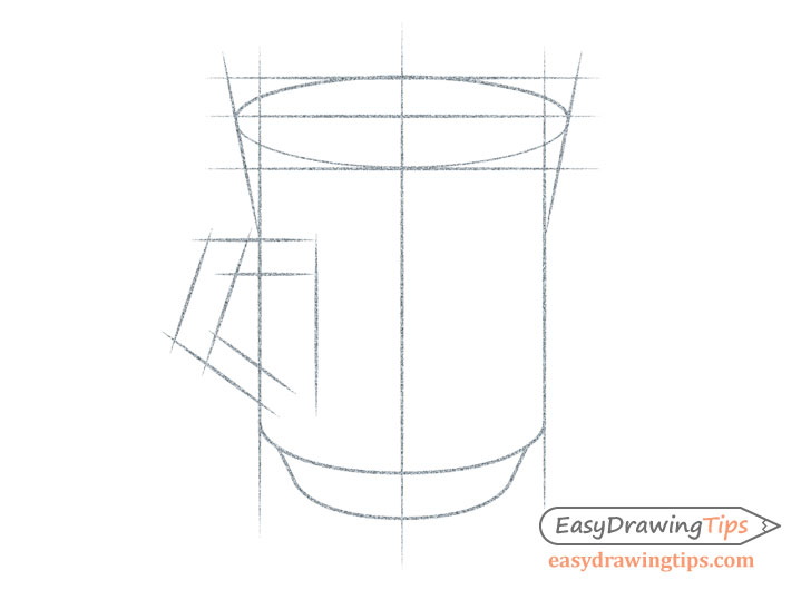 Cup handle proportions sketch