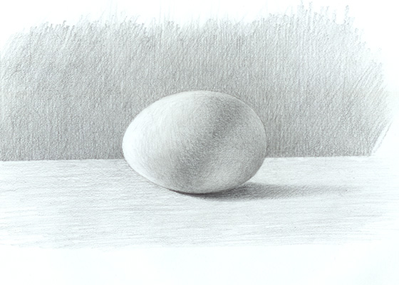 Shaded egg