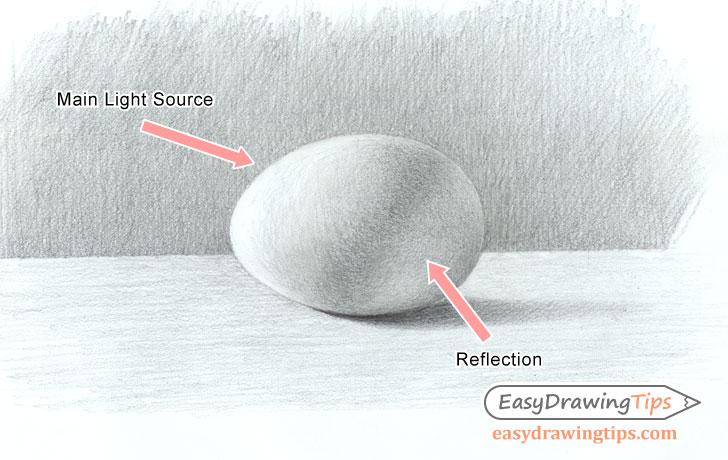 Egg shading light sources