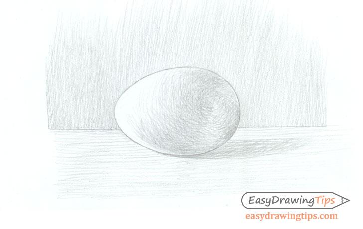 Egg shading cross hatch