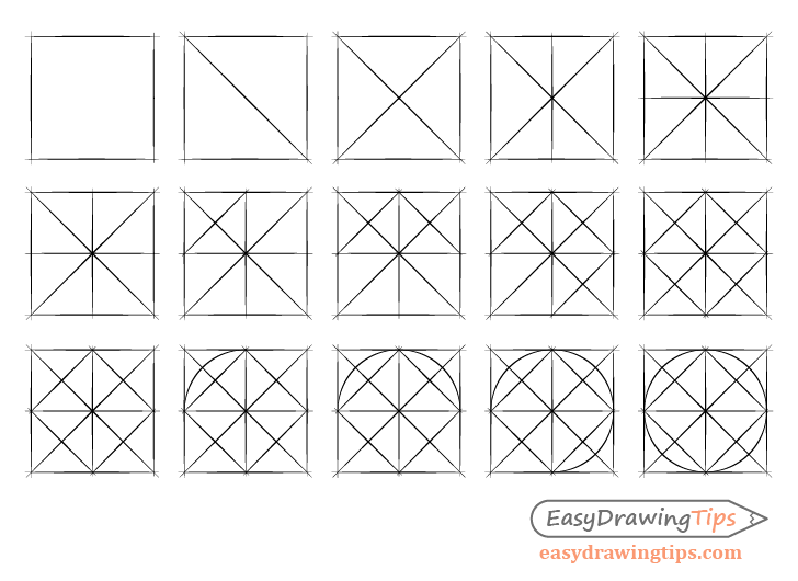 Line and shape drawing exercises