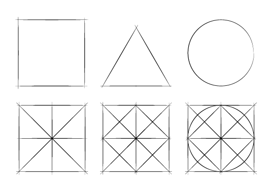 Beginner drawing exercises