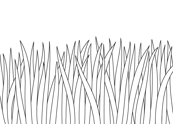 Grass drawing