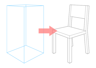 How to Draw a Chair in Perspective Step by Step