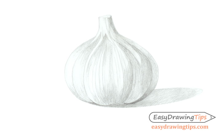 Garlic basic shading