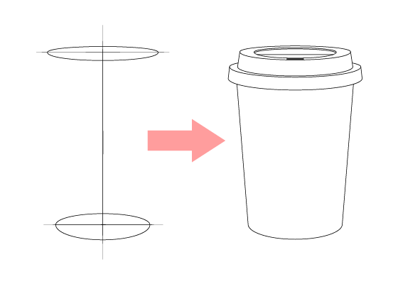 Coffee cup drawing tutorial