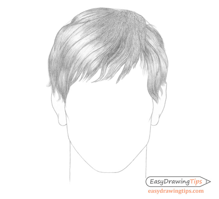 Male hair shading