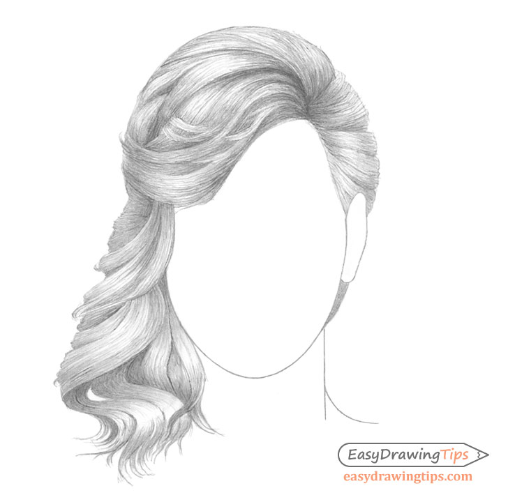Curly hair shading