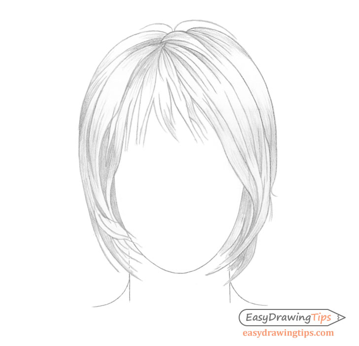 Hair basic shading