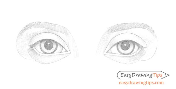 Eyes basic shading