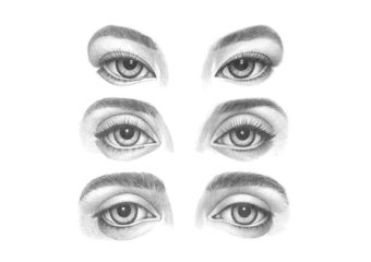 How to Draw Different Eye Types Step by Step