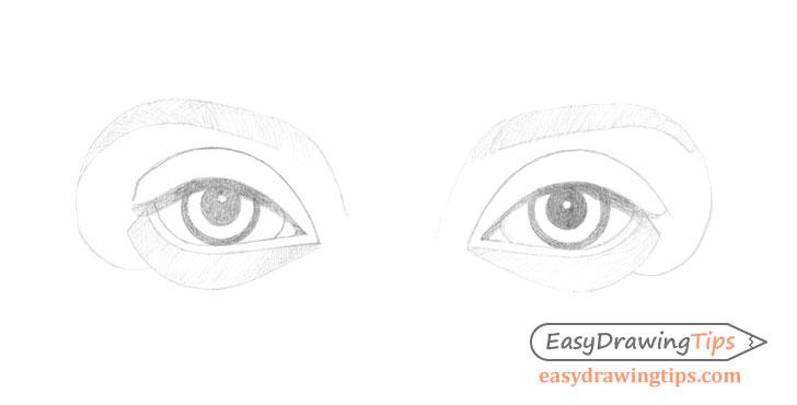 Eyes initial shading