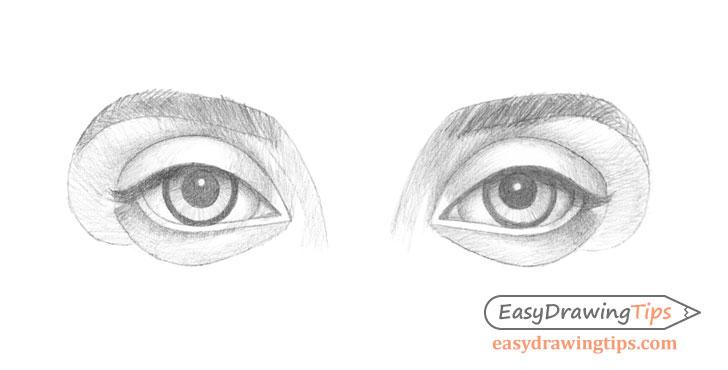 Eyes shading