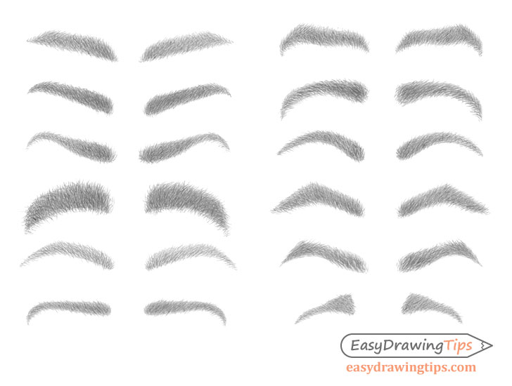 Eyebrows drawing