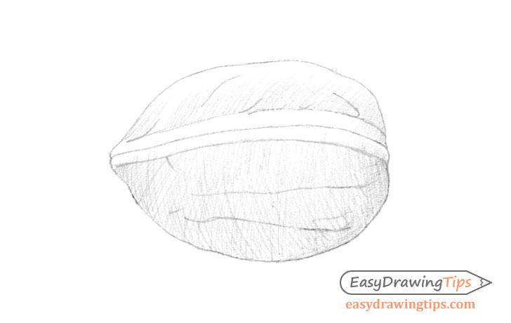 Walnut basic shading