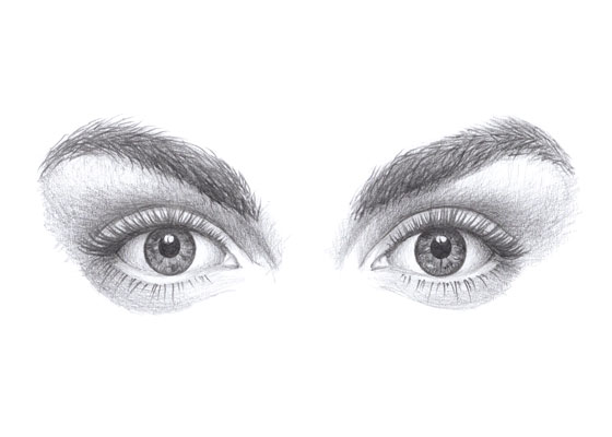Eyes drawing tutorial