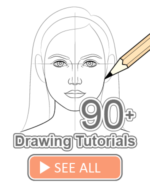 More than 80 drawing tutorials