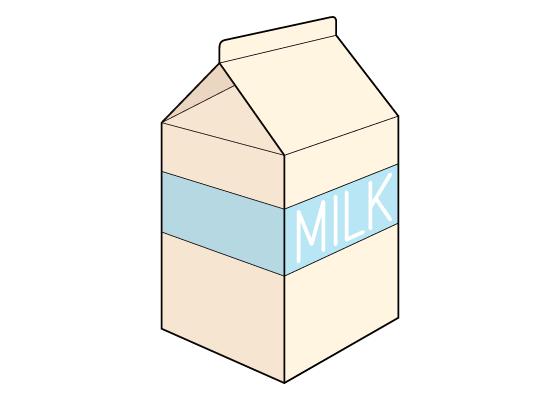 Milk carton drawing tutorial