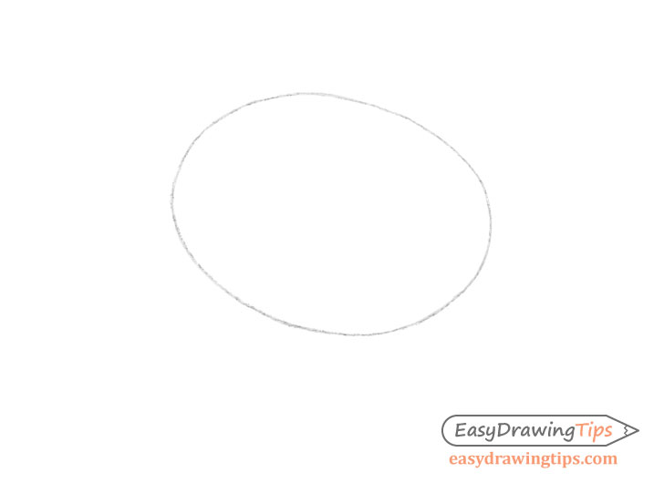 Kiwi outline drawing