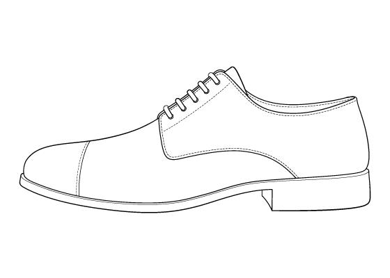 Shoe drawing tutorial